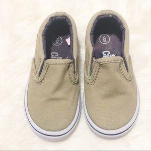 Toddler Boys Circo Tan Slip-on Shoes